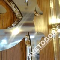 буквы из оргстекла с накладками из нержавеющей стали