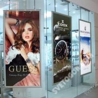 Световые рекламный панели на стену