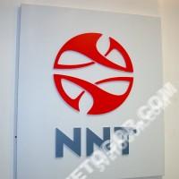 Клеенный световой короб с выступающим логотипом