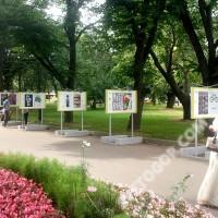 Готовые стенды для Парка Горького