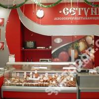 Интерьер колбасного магазина «Сетунь»