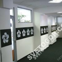 Фирменное оформление коридоров