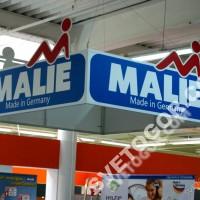 """Рекламная подвесная вывеска """"MALIE"""""""