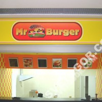 """Оформление """"Mr. Burger"""""""