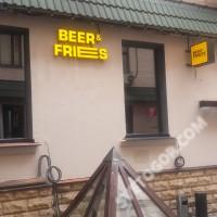 Световые объёмные буквы для пив.бара