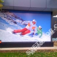 Баннерный лайтбокс со светодиодами для магазина «Спорт Марафон»