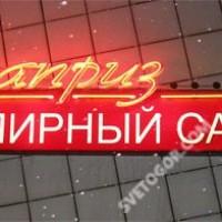 """Неоновый буквы """"Каприз"""""""